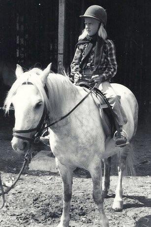 Horseback riding Becky