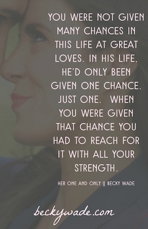 Her One And Only By Becky Wade Interesting Love One And Only Quote For Her