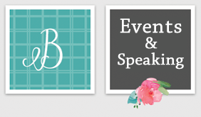 Events and Speaking